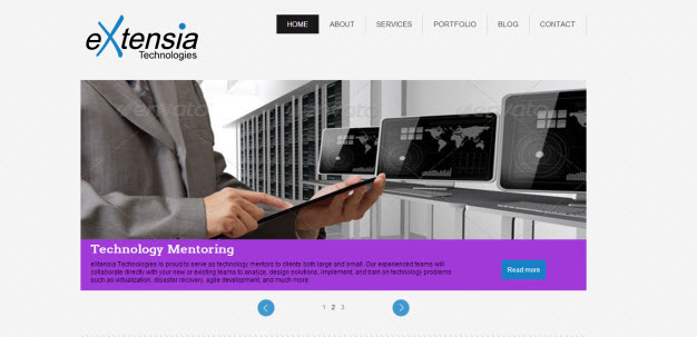 eXtensia's new website